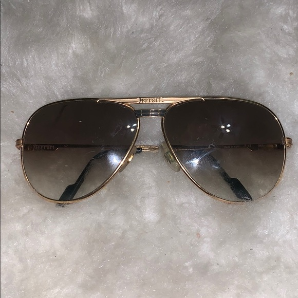 Vintage Ferrari Aviator Sunglasses